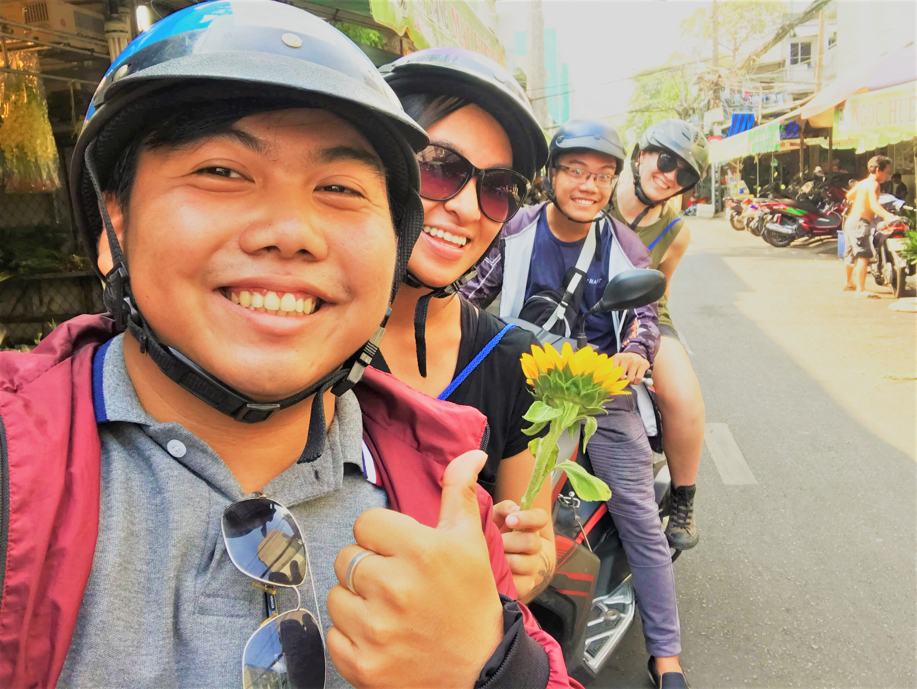 Visit local areas with local tour guides