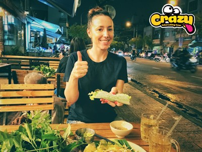 SAIGON CITY TOUR  – NIGHT VIETNAMESE VEGETARIAN FOOD MOTORBIKE TOUR
